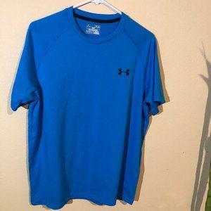 Under Armour HeatGear Blue Short Sleeves Shirt